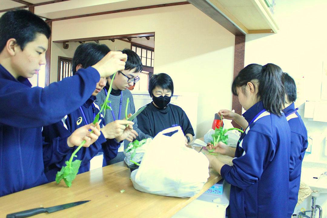 山菜体験学習